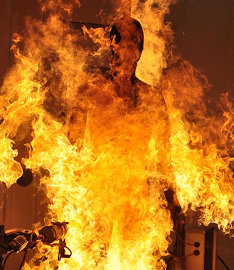 Thermetrics Flame Manikin Bernie